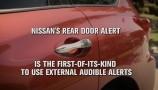 Nissan presenta la tecnologia Rear Door Alert