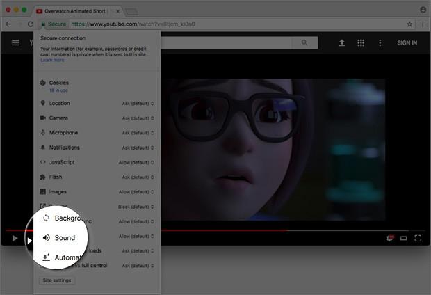 Google Chrome, potremo disattivare il suono nei siti web