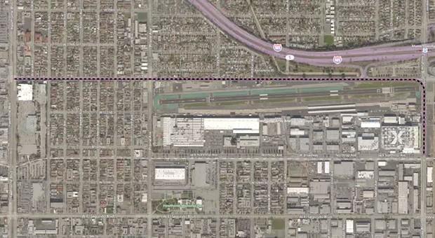 Il tunnel di test che The Boring Company costruirà nel sottosuolo californiano, nei pressi della sede di SpaceX: l'immagine è tratta dalla documentazione pubblicata dall'Hawthorne City Council