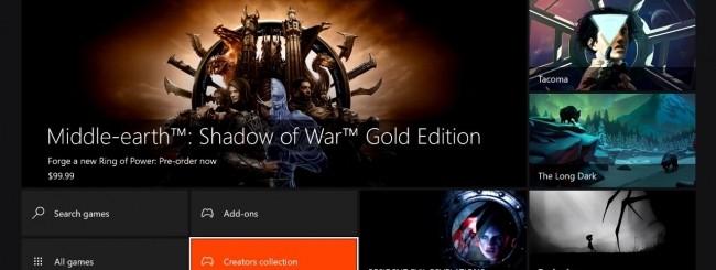 Microsoft lancia l'Xbox Live Creators Program