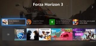 Xbox One, le novità dell'aggiornamento autunnale