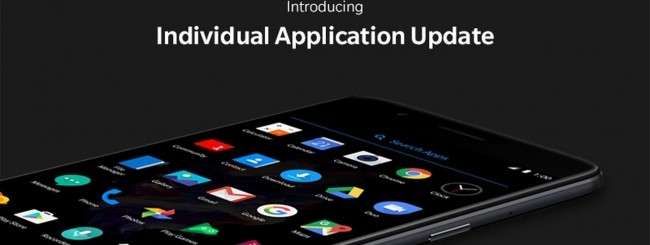 OnePlus Individual Application Update