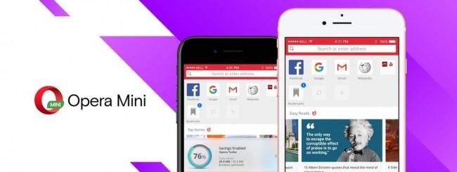 Opera Mini per iOS