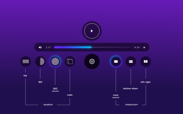 Opera VR UI