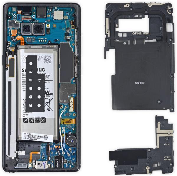 Samsung Galaxy Note 8 batteria