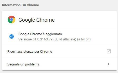 L'aggiornamento alla versione 61 del browser Chrome è già disponibile su Windows, macOS e Linux