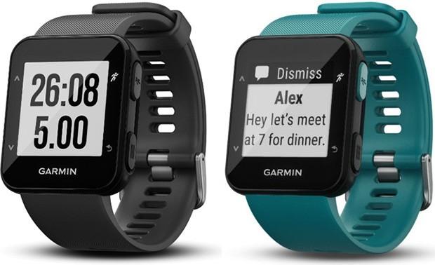 Garmin Forerunner 30: smartwatch per sportivi e amanti del fitness, con modulo GPS e cardiofrequenzimetro