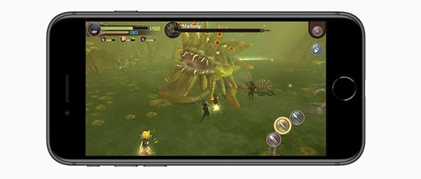 iPhone 8, gaming