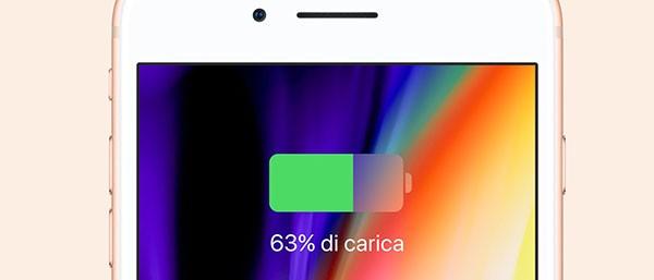 iPhone 8, carica wireless