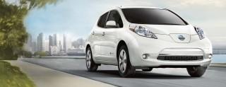 Nuova Nissan LEAF, le immagini dell'auto elettrica