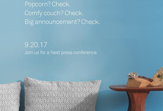 L'immagine che conferma l'evento del 20 settembre organizzato da Nest