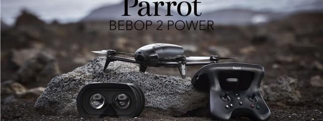 Parrot Bebop 2 Power, autonomia sino a 30 minuti