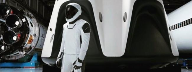 SpaceX, nuovi dettagli sulla tuta spaziale