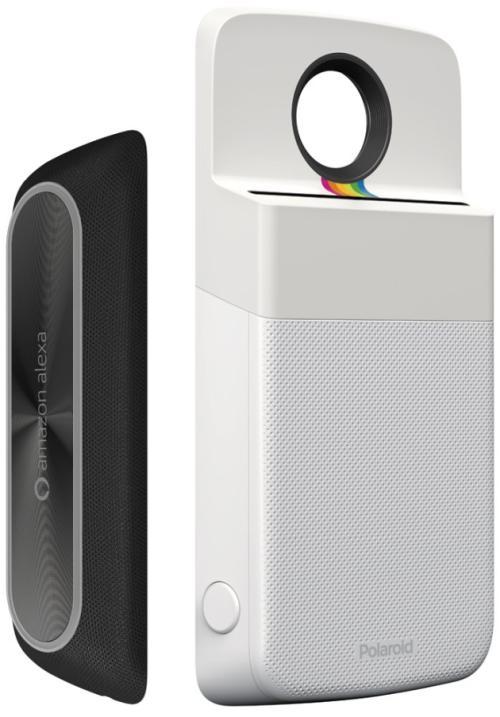 Amazon Alexa e Polaroid Insta-Share Printer