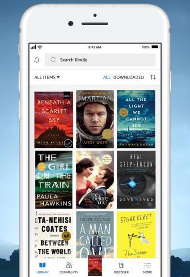 Kindle per iOS