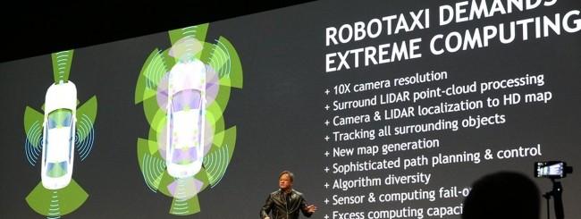 NVIDIA Drive PX Pegasus - Robotaxi