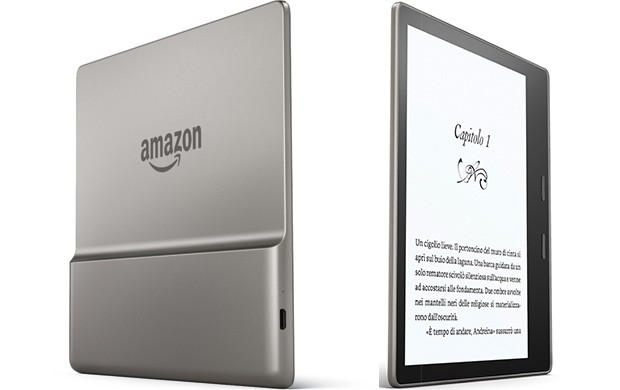 Amazon ci riprova: Kindle Oasis è più grande, meno costoso e anti-acqua