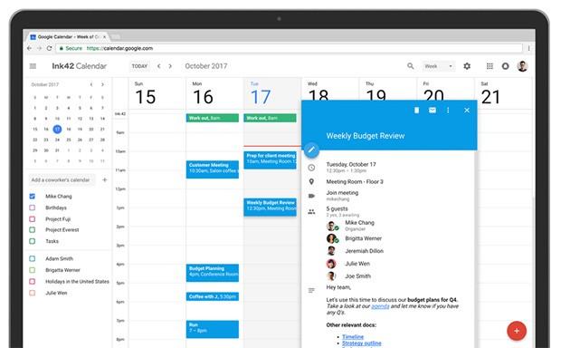 Google Calendar Web sposa il Material Design: adesso è bellissimo