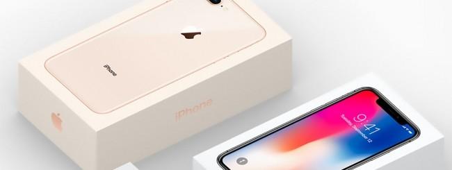 iPhone X, confezione