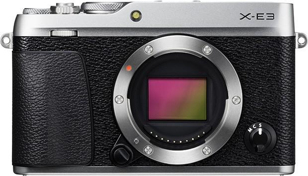 Il design della mirrorless Fujifilm X-E3