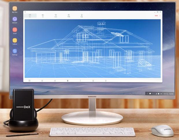 Una piattaforma desktop per la produttività allestita grazie a Samsung DeX