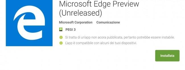 Edge per Android