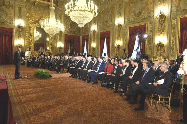 Eni Award 2017: la cerimonia al Quirinale