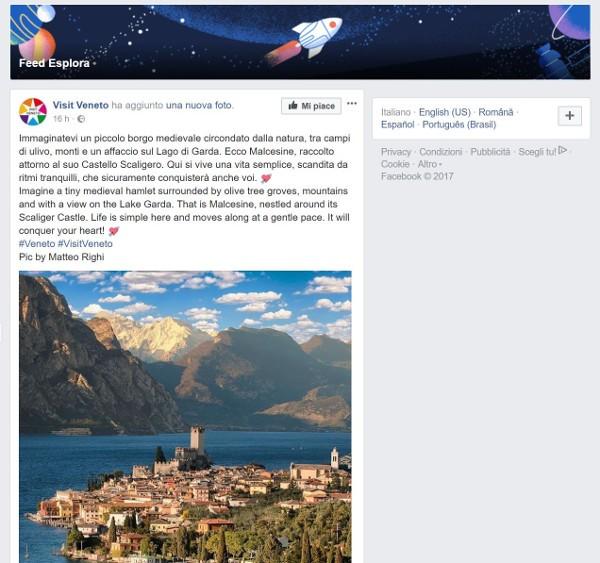 Facebook pensa di nascondere i post gratuiti delle pagine