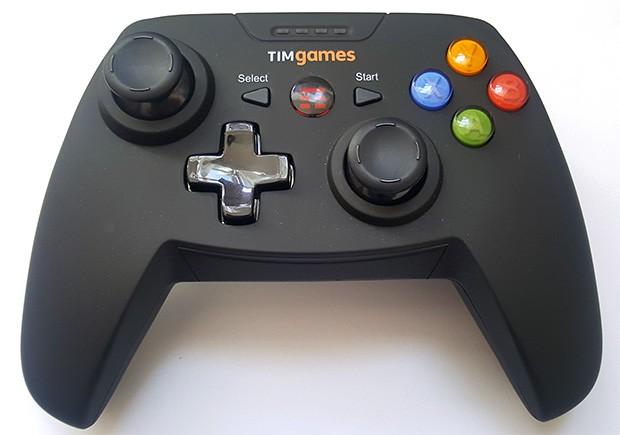 Il gamepad realizzato per il lancio di TIMGames