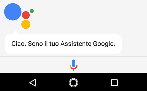 La nuova icona per il pulsante Home, che certifica l'arrivo dell'Assistente Google