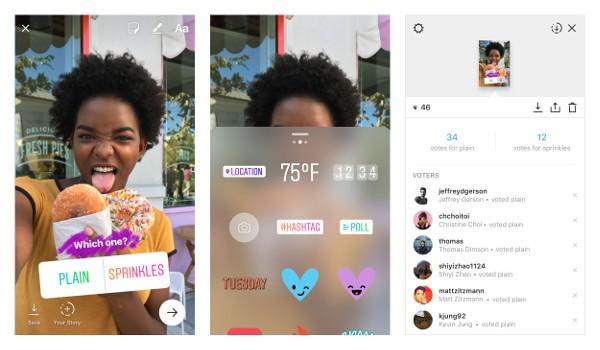 Instagram: debuttano i sondaggi nelle Storie