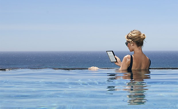 Il nuovo Kindle Oasis di Amazon è waterproof