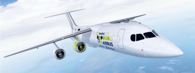 Airbus punta ad un aereo ibrido