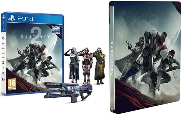 La copia di Destiny 2 arricchita dall'emote Saluto Militare e dallo Steelbook in offerta su Amazon per la settimana del Black Friday
