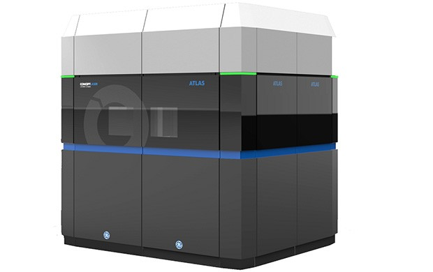 Una delle stampanti 3D progettate da General Electric, destinate all'ambito industriale