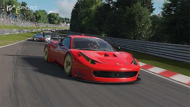 Screenshot per Gran Turismo Sport