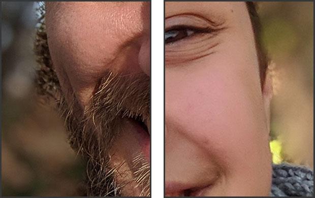 L'effetto bokeh applicato dalla modalità Ritratto, nel dettaglio