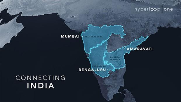 Hyperloop One punta all'India