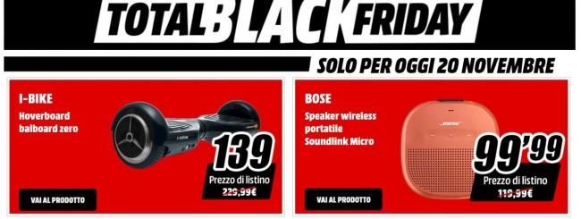 MediaWorld lancia il Total Black Friday