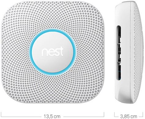 Le dimensioni di Nest Protect