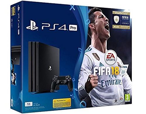 Il bundle PS4 Pro + FIFA 18