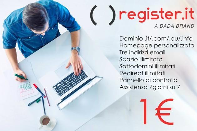 L'offerta tutto compreso di Register.it