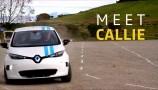 La self-driving car di Renault evita gli ostacoli