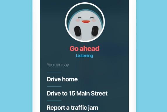 """Pronunciando """"Ok Waze"""" è possibile interagire con l'applicazione mediante comandi vocali, tenendo così gli occhi ben fissi sulla carreggiata, le mani sul volante e senza compromettere la sicurezza"""