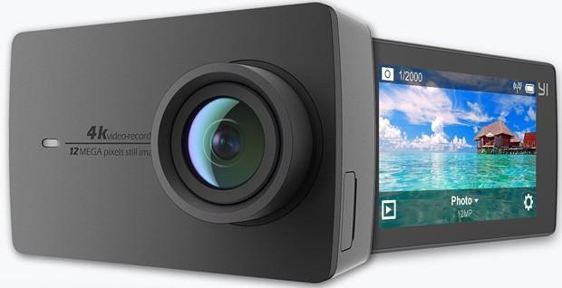 YI Action Camera 4k per riprese sportive in Ultra HD