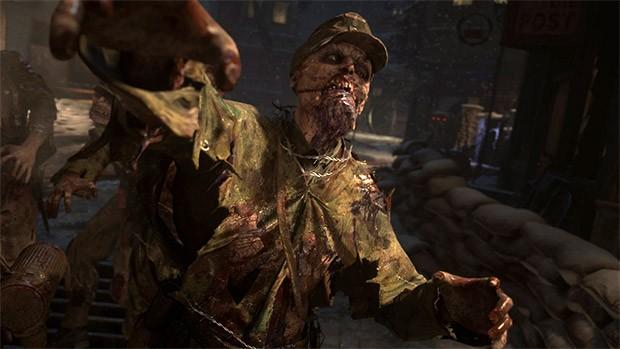 In Call of Duty WWII bisogna vedersela anche con zombie nazisti