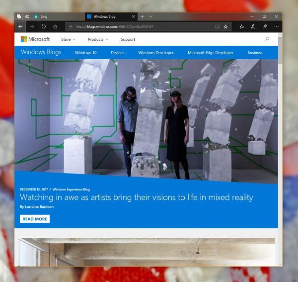 Windows 10, le novità di Edge