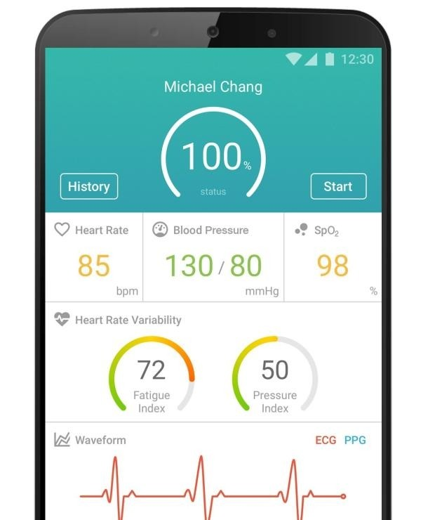 MediaTek Sensio app smartphone