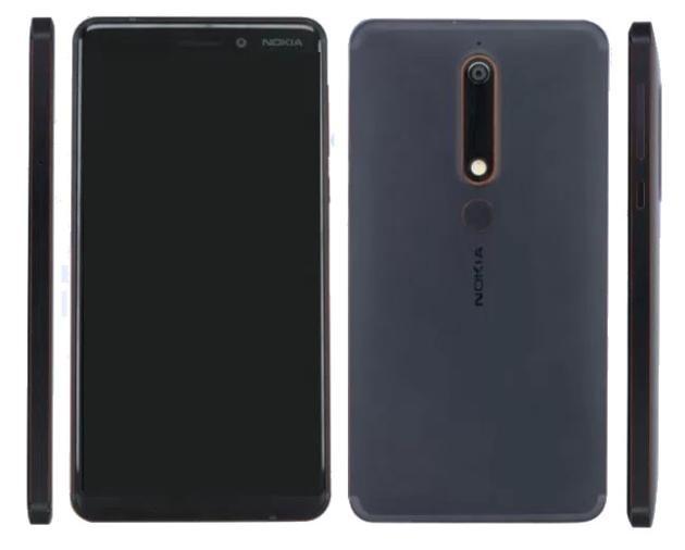 Nokia 6 (2018) leak