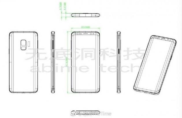 Samsung GalaxyS9 schematics